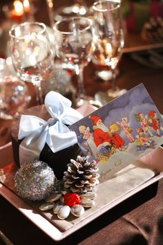 TAKE and GIVE NEEDS  Ideas for how to make your Christmas wedding a special event !!