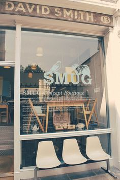 Smug | A space filled with 1950s furniture, handmade toys, gorgeous stationery, quirky kitchenware, and chic ceramics.. #places #london #inspiration