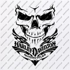 Harley Davidson Decals, Harley Davidson Tattoos, Harley Davidson Wallpaper, Biker Tattoos, Skull Tattoos, Tatoos, Hd Design, Graffiti Lettering Fonts, Pinstriping Designs