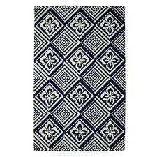 Palace Blue/Ivory Geometric Area Rug by Dynamic Rugs, Blues 4' x 6' Rug Area Rugs | Wayfair
