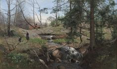 Alfred Thörne, Spring in the Country