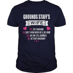 I Love GROUNDS STAFF'S Shirts & Tees