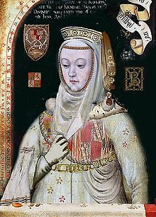 Blanche II of Navarre (9 June 1424 – 2 December 1464), titular queen of Navarre, was the daughter of John II of Aragon and Blanche I of Navarre. She was also Princess of Asturias by marriage.