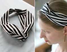 DIY: Sewing A Turban Twisted Scarf | Say Yes to Hoboken