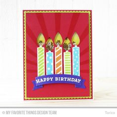 Make A Wish Card Kit - Torico  #mftstamps