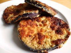 Gebratene Aubergine mit Low Carb Panade | Low Carb Rezepte
