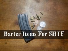 Barter Items For SHTF