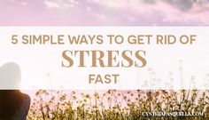 How To Calm Your Busy Mind