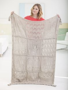Make this beautiful heirloom afghan, designed for Lion Brand by Nicky Epstein, with Vanna's Choice! Get the free knit pattern now and save 20% on the yarn for a limited time!