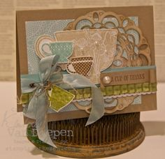 Tea Shoppe Stamp set.  Ready for some tea?