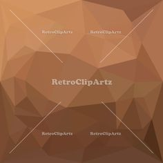 Burlywood Goldenrod Abstract Low Polygon Background Vector Stock Illustration. Low polygon style illustration of a burlywood goldenrod abstract geometric background. #illustration  #BurlywoodGoldenrodAbstract