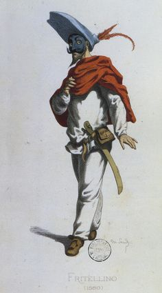 Maurice Sand, Fritellino, from Masques et Bouffons (Comédie Italienne)