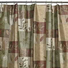 Kas romana 54 inch w x 78 inch l stall fabric shower - Jcpenney bathroom window curtains ...