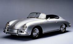 Erwin Komenda design. Porsche 356, first car of the brand. From 1948 till 1965. Huge success in the US, especially among celebrities ( ex: James Dean)
