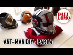 #102: Ant-man Helmet Part 4 - End (free template 3) | Costume Prop | How To | Dali DIY - YouTube