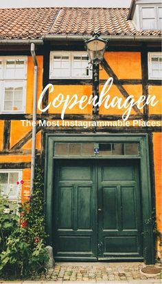 The Most Instagrammable Places in Copenhagen selected by a local, including the landmarks and secret cool spots. | #Copenhagen, #Denmark, #ColorfulCopenhagen