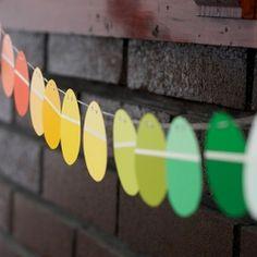 egg paint strips