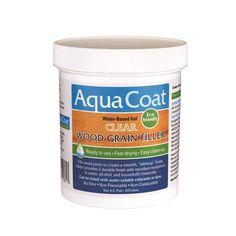 Aqua Coat Wood Grain Filler