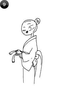 How to Tie Women's Obi