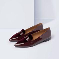 Alexandra Patent / Bordeaux