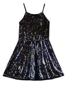 4cf4a2dc9db Flowers By Zoe Sequins Galore Dress. Holiday Dresses