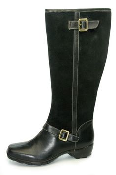 Women's dress boots for large calves