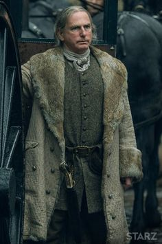 Outlander Photos   STARZ;          Colum MacKenzie (Gary Lewis)