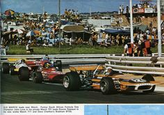 John Love (Team Gunston) March 701 - Ford