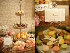 Elegant Sweets and Treats display idea www.MadamPaloozaEmporium.com www.facebook.com/MadamPalooza