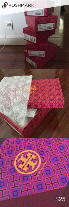 Tory Burch empty boxes in new condition 💥 Tory Burch empty boxes in new condition paper still inside Tory Burch Other