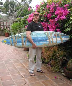 moasic surfboard | Surfboard Mosaics