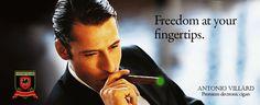 Freedom At Your Fingertips...Antonio Villard