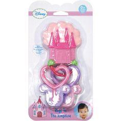 Kids Preferred Disney Baby Disney Princess Keys to the Kingdom Teether, Pink Disney Princess Babies, Baby Princess, Baby Disney, Baby Girl Wishes, Fisher Price Baby Toys, Toddler Toys, Toddler Stuff, Kid Stuff, Kids Toys