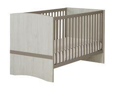 Lit bébé pour literie 70x140cm   2 pans 140cm - Collection LEONIE