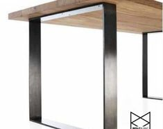 3/8 thick metal table legs local pickup/No by PfunderMetalwerks