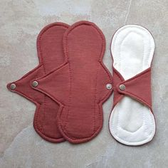 Red Menstrual Pads - Eco Friendly Sanitary Pads - Bamboo & Cotton pads Menstrual Pads, Cloth Pads, Cotton Pads, Go Green, Eco Friendly, Bamboo, Red
