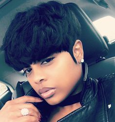 Short Neat Bang Natural Straight Human Hair Wig - June 01 2019 at Short Weave Hairstyles, African Hairstyles, Wig Hairstyles, Hairstyles 2016, Model Hairstyles, Ladies Hairstyles, Hairstyles Pictures, Hairstyles Videos, Fancy Hairstyles