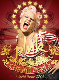 Pink - I'm Not Dead Tour (2007) @ Brisbane Entertainment Centre.