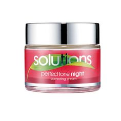 £3.50 Avon Solutions Perfect Tone Night Cream  With antioxidant-rich Mulberry leaves skin looking brighter, lighter, and with less visible discolouration. 50ml