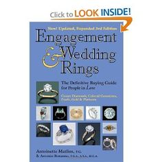Engagement & Wedding Rings Edition): The Definitive Buying Guide for People in Love The book couples in love have been waiting for…revised and updated! Engagement & Wedding Rings takes the fear. Engagement Ring Guide, Antique Engagement Rings, Wedding Engagement, Diamond Engagement Rings, Wedding Rings, Wedding Stuff, Wedding Ideas, Heart Shaped Diamond Ring, Flash Memory Card