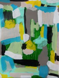 Original Abstract Painting by CharestStudios on Etsy, $49.00
