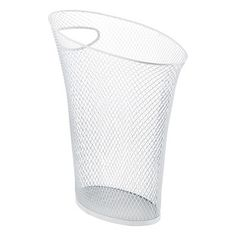 White Mesh Skinny Can by Umbra