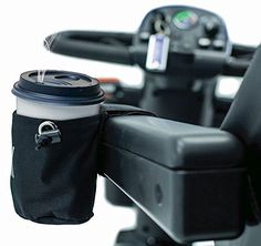 CUP HOLDER Unbreakable for Pride Scooter, Wheelchair, Powerchair - Drink Beverage Universal Horizontal Mount Accessory J3000 Handicap Accessories, Wheelchair Accessories, Reptile Accessories, Drink Holder, Cup Holders, Wheelchair Ramp, Apple Homekit, Thing 1, Kit Homes