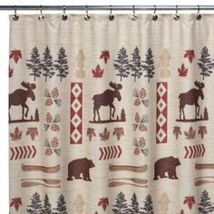 North Ridge 70-Inch W x 72-Inch L Shower Curtain - BedBathandBeyond.com