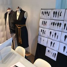 Meeting ready! Today our international client came into the studio to review their final uniform collection before it is all shipped over to them in sunny Qatar