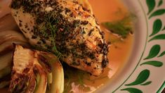 What's for dinner tonight? Italian Roast Chicken with Fennel! #whatsfordinner