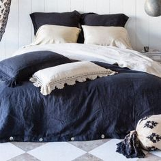 Available at www.gdchome.com  Finally Navy linen for your romp room