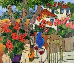Claude Simard(1956ー2014)「Paysage provençal」