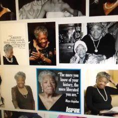 More of dear #mayaangelou #poetry #grateful #positivethinker