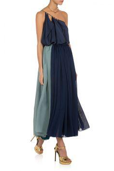 Lara Khoury Tricolour Skirt